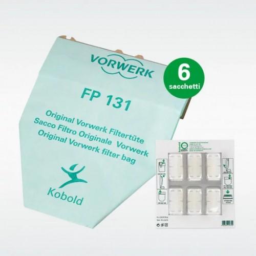 Sacchetti Folletto VK130/131 con profumini