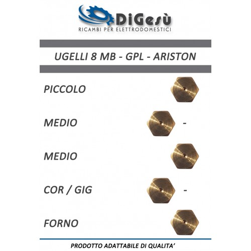 Serie ugelli 8MB GPL Ariston