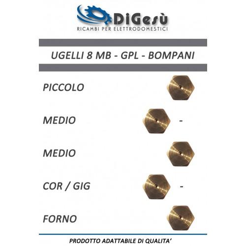 Serie ugelli 8MB GPL Bompani