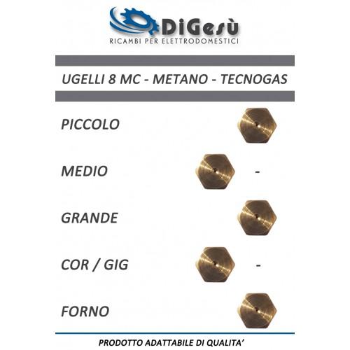 Serie ugelli 8MC Metano Tecnogas