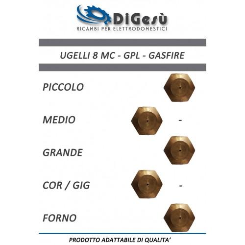 Serie ugelli 8MC GPL Gasfire