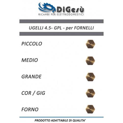 Serie ugelli 4.5MB GPL per Fornelli
