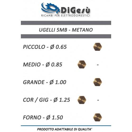 Serie ugelli 5MB Metano per Fornelli