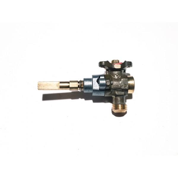 Rubinetto gas rapido piano cottura Ariston / Indesit C00042451 - DI GESU\'  RICAMBI PER ELETTRODOMESTICI