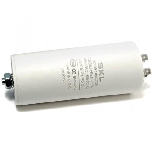 CONDENSATORE SPUNTO MOTORE IN POLIPROPILENE 6.3 µF 450V