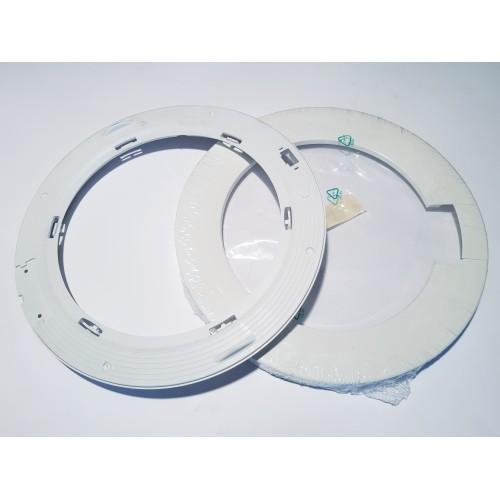 Kit cornice oblò lavatrice Zanussi / Rex / Electrolux originale 50243256000