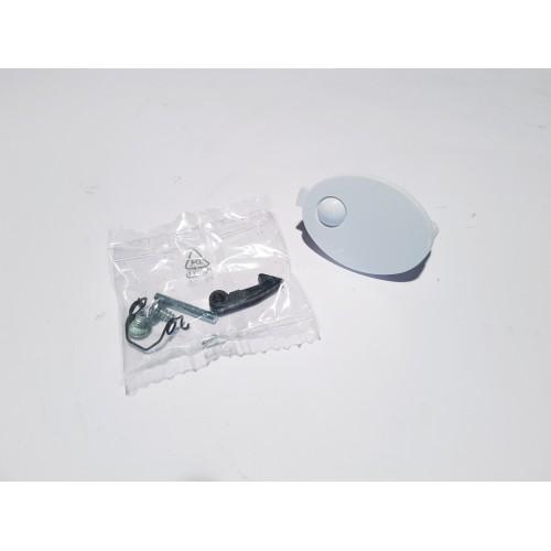 Kit maniglia oblò lavatrice Candy / Hoover / Zerowatt originale 90480468