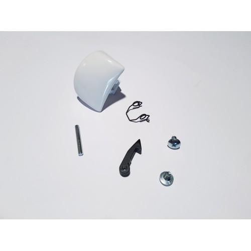 Kit maniglia oblò lavatrice Candy / Hoover / Zerowatt originale 90476789