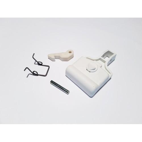 Kit maniglia oblò lavatrice Ariston / Indesit originale C00104051