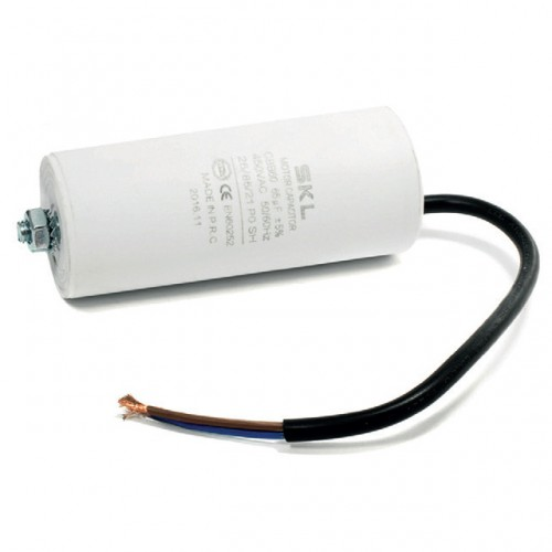Condensatore con filo - 10mf